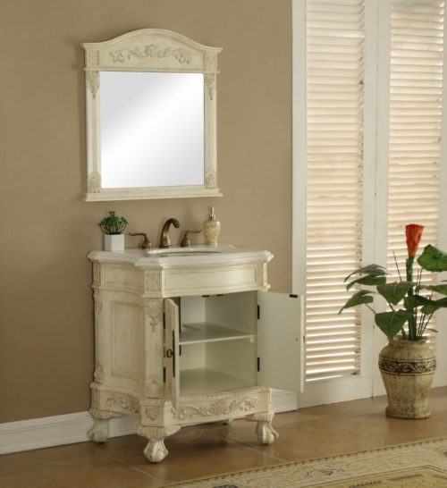 Chelsea 48 Vanity With Matching Medicine Cabinet Cherry