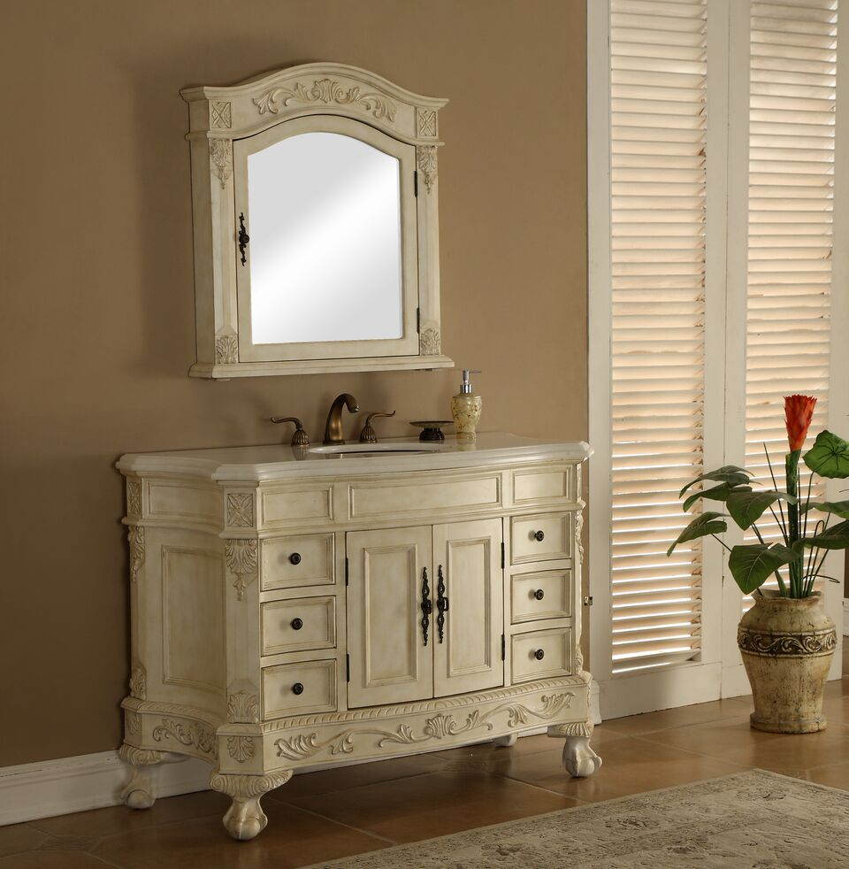 Chelsea 48 Vanity With Matching Medicine Cabinet
