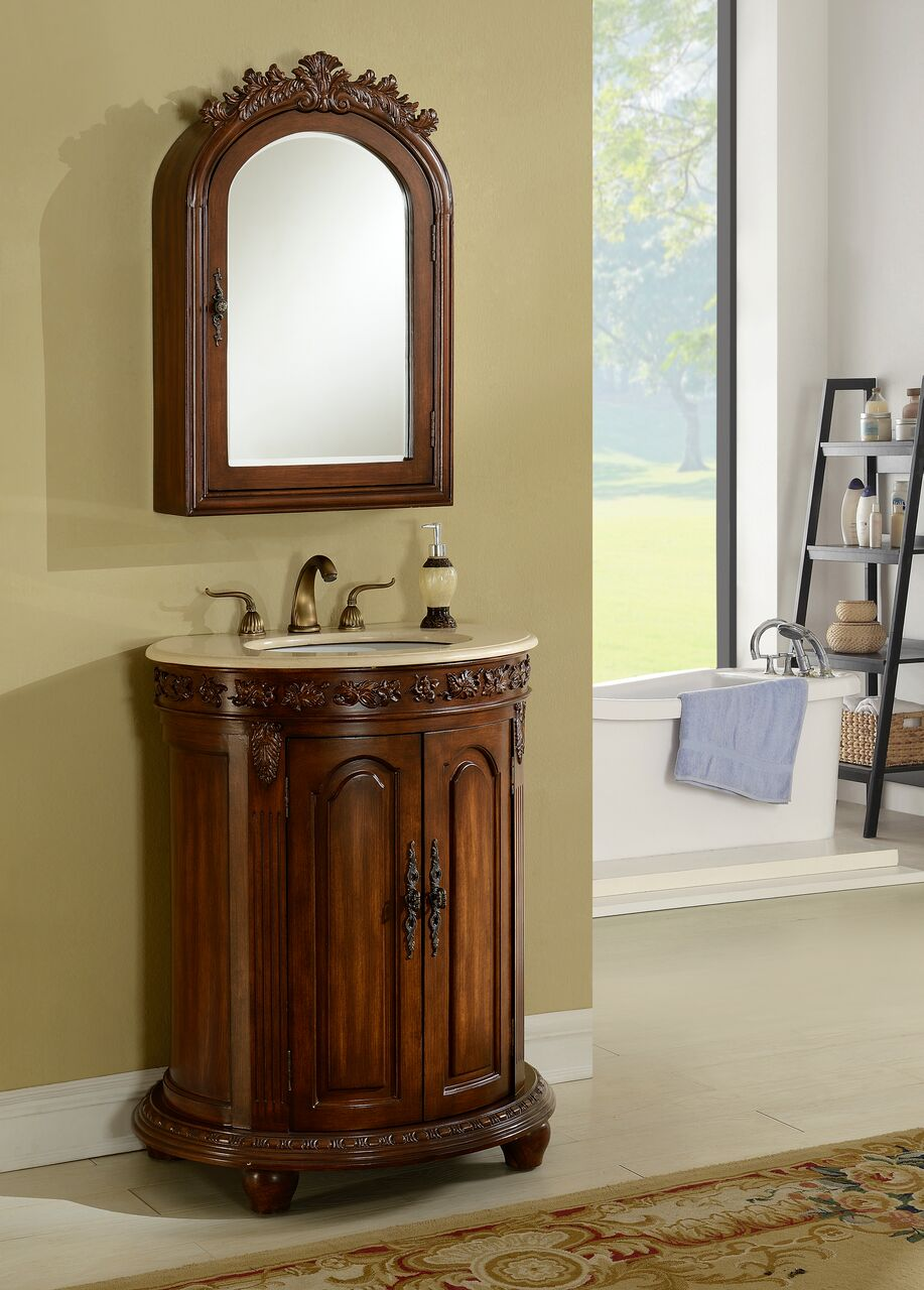 Wellington 28 Teak With Matching Medicine Cabinet Avada Xml