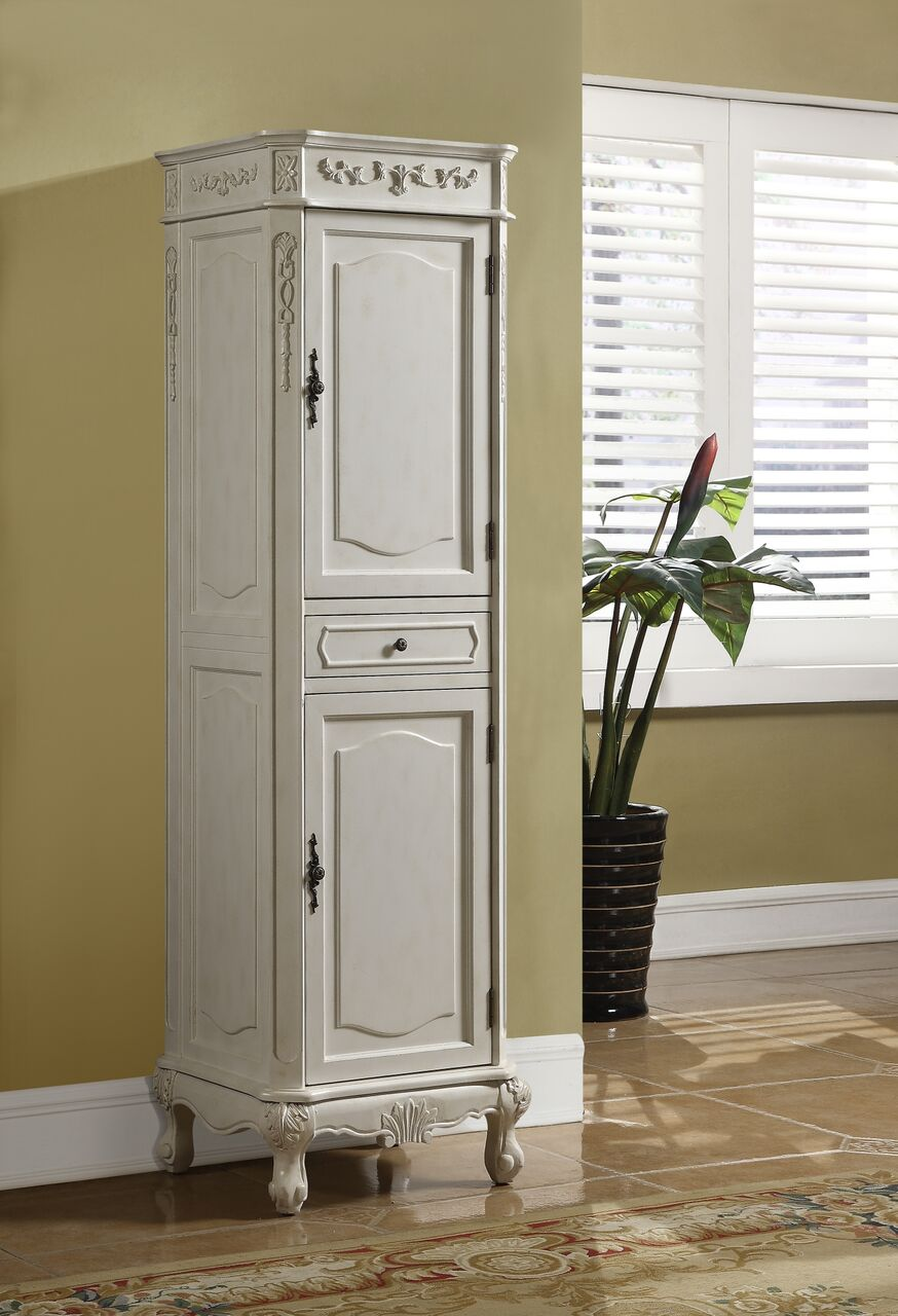 Kensington Kitchen Cabinets: Kensington Linen Cabinet Antique White